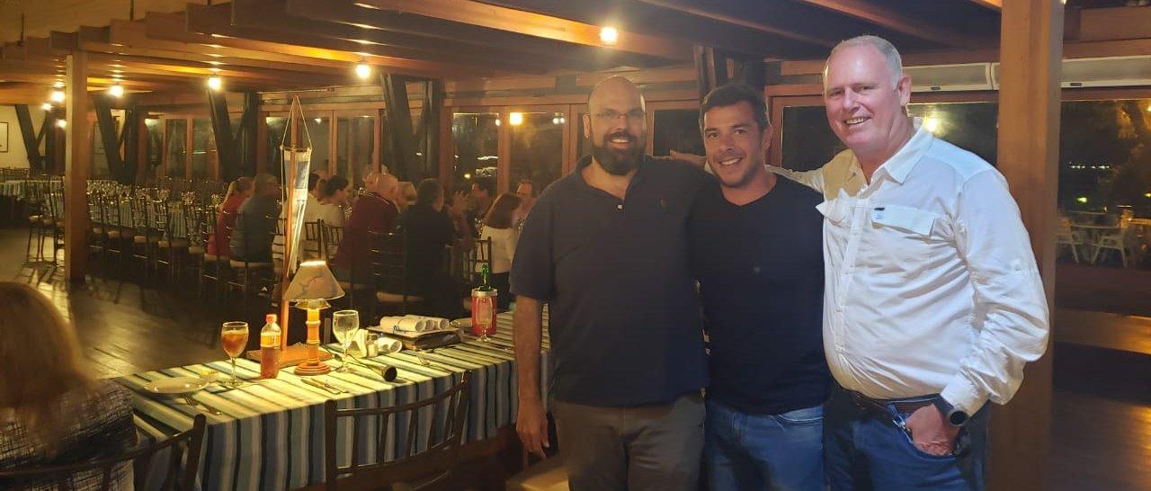 Netuno batizou novos integrantes para o Grupo dos Cruzeiristas no último jantar de 2019