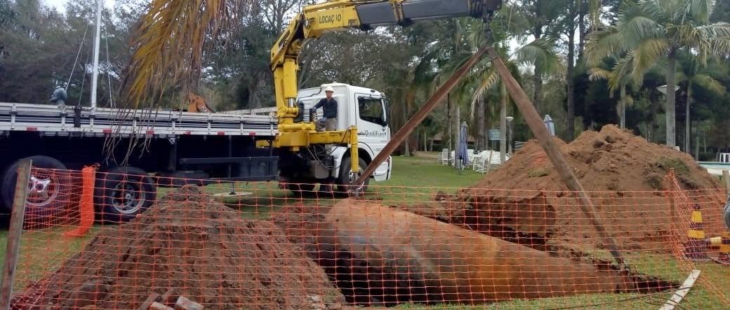 Licença ambiental do VDS avança com a retirada dos tanques do antigo ponto de combustível desmoblizado