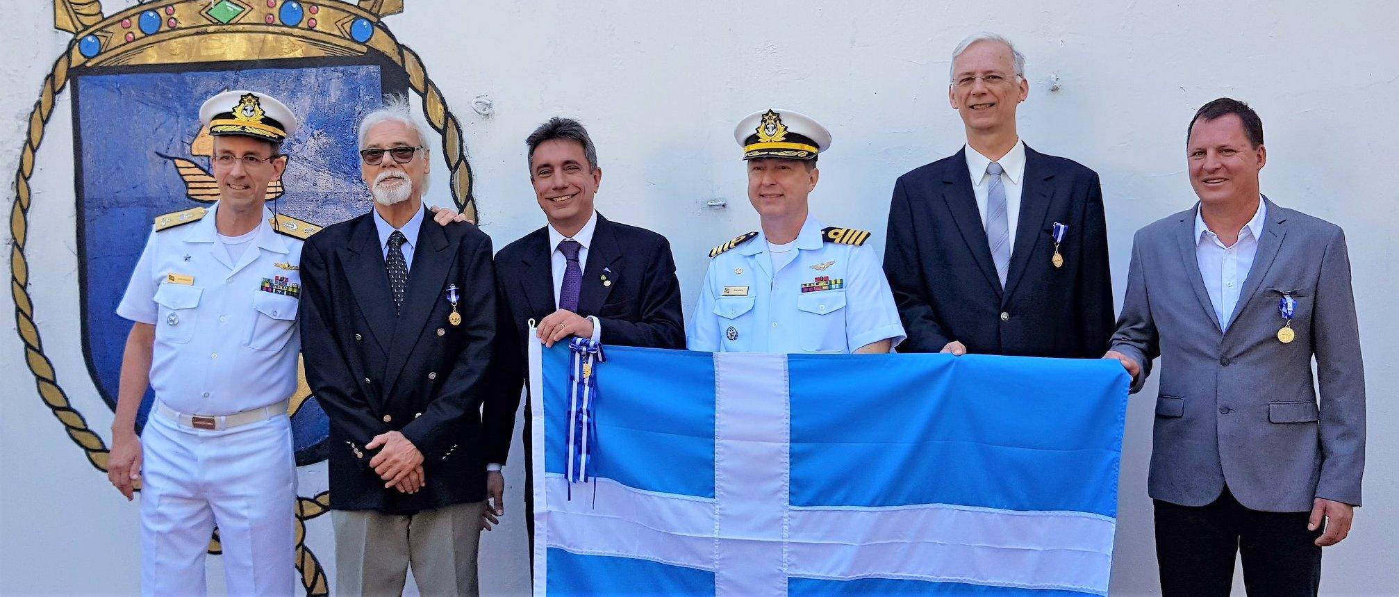 VDS recebeu medalha Amigos da Marinha