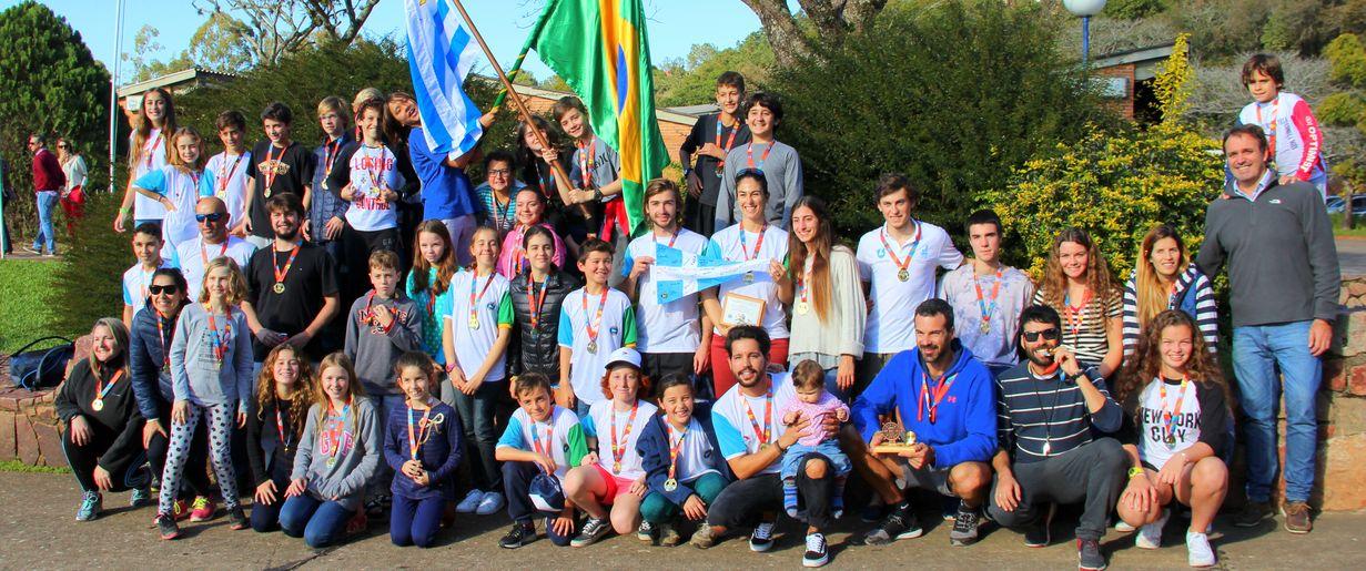 Veleiros do Sul e Yacht Club Punta del Este realizaram o 3º Intercâmbio de escolas de vela