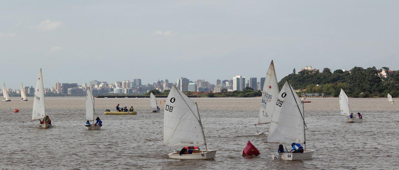 Sailing Day proporcionou para as crianças a descoberta do mundo da vela
