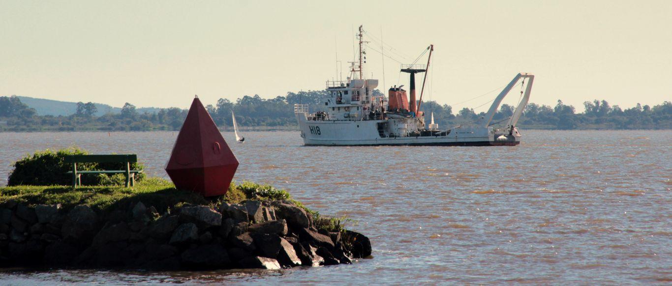Na terça-feira (23) a Marinha irá fazer uma palestra no VDS sobre os dados da batimetria realizada no Guaíba