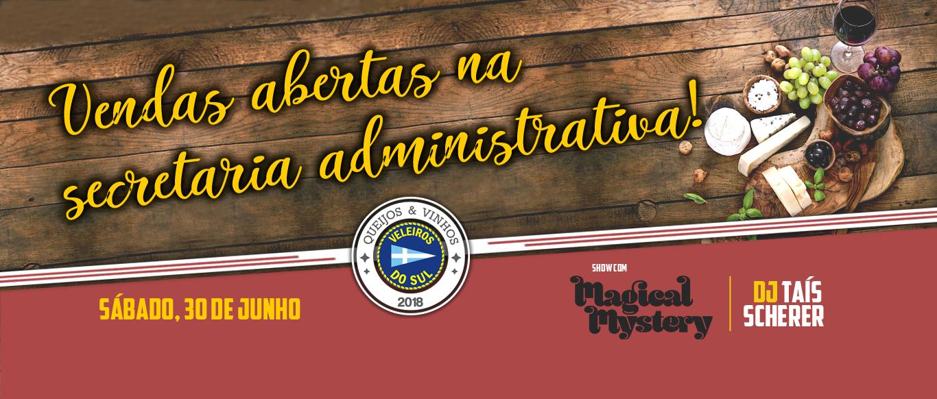 Ingressos do Queijos e Vinhos 2018 já estão à venda! Saiba mais!