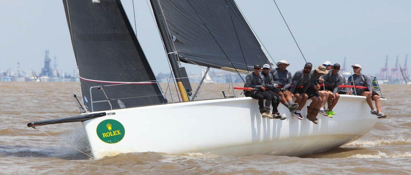 Crioula ficou em quinto na regata B.Aires - Punta el Este do Circuito Rolex