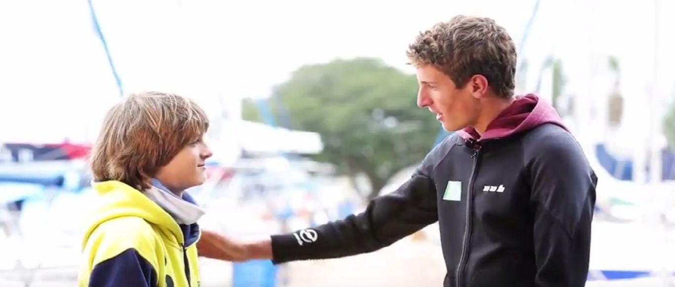 Vídeo: Vela Jovem do VDS nos Mundiais da Juventude e Optimist com Tiago e Erick