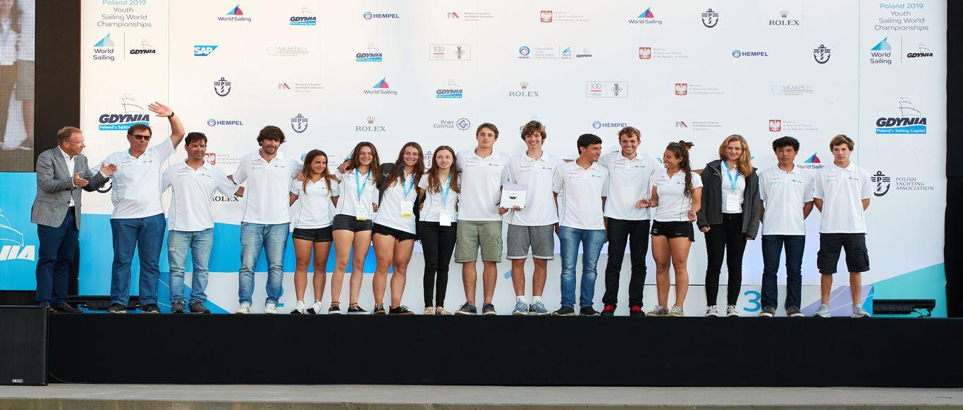 Mundial da Juventude encerrou na Polônia. Equipe do Brasil ganhou prêmio de fair play