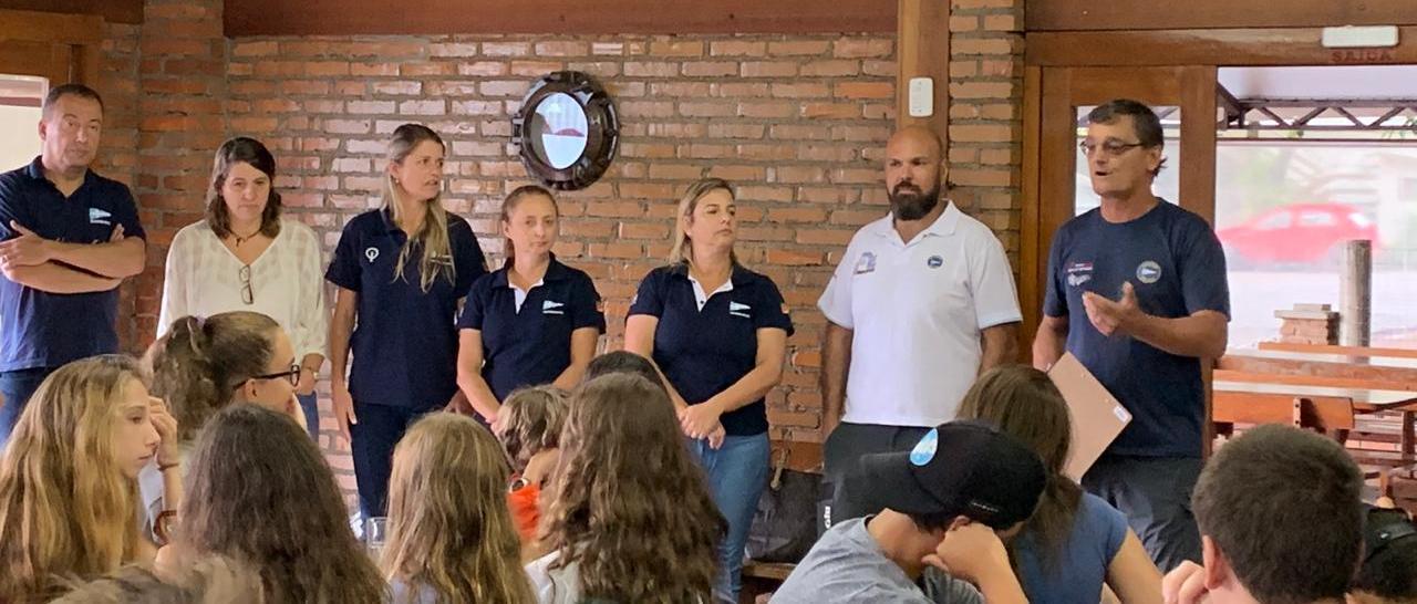 Café da manhã no Clube reuniu Comodoria e Vela Jovem para comemorar o desempenho das flotilhas