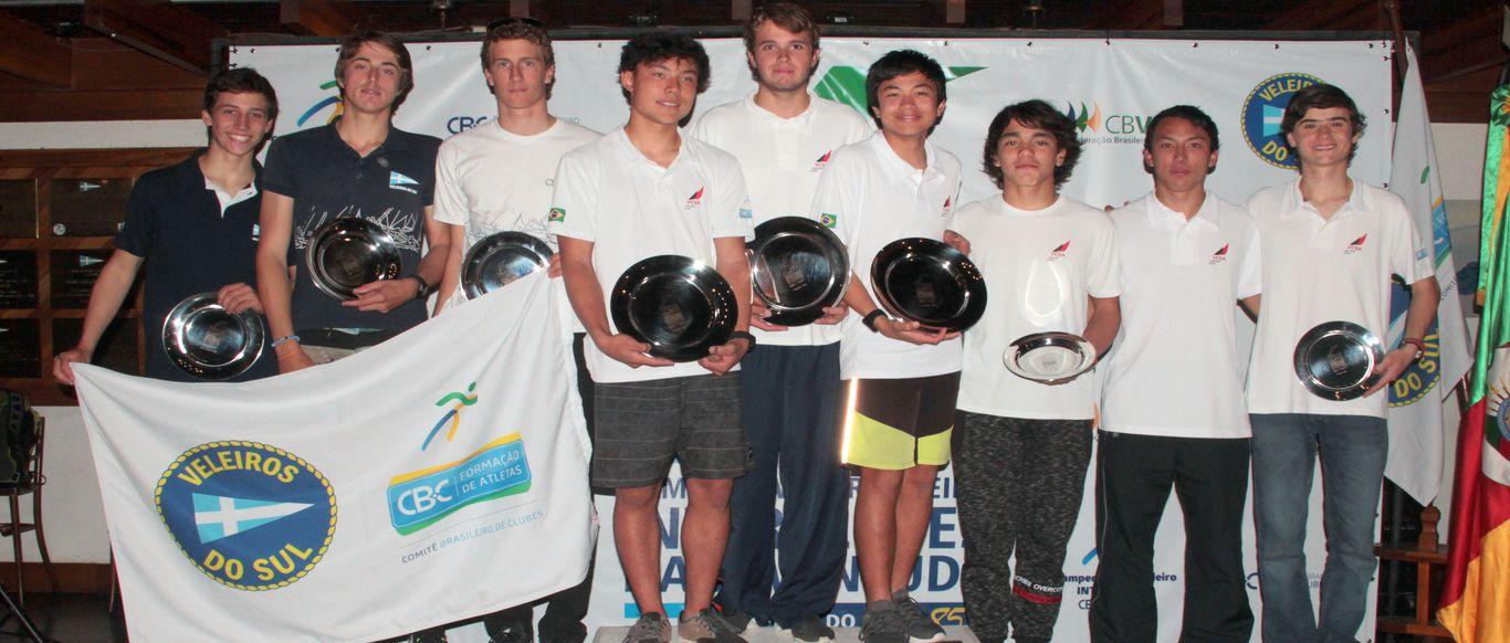 Equipe YCSA 8 vence o Campeonato  Brasileiro Interclubes da Juventude. VDS 1 foi a vice-campeã.