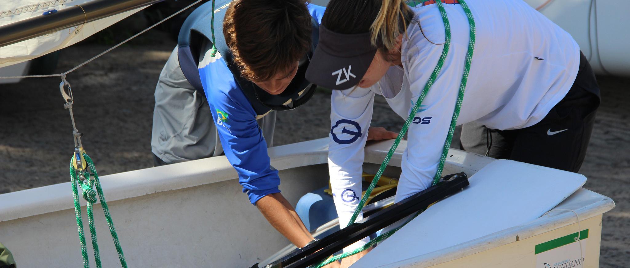 Demonstre seu amor pela vela, seja voluntário do VDS nos campeonatos de Optimist!