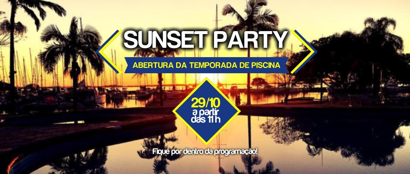 Sunset Party abre a temporada de verão no VDS no dia 29