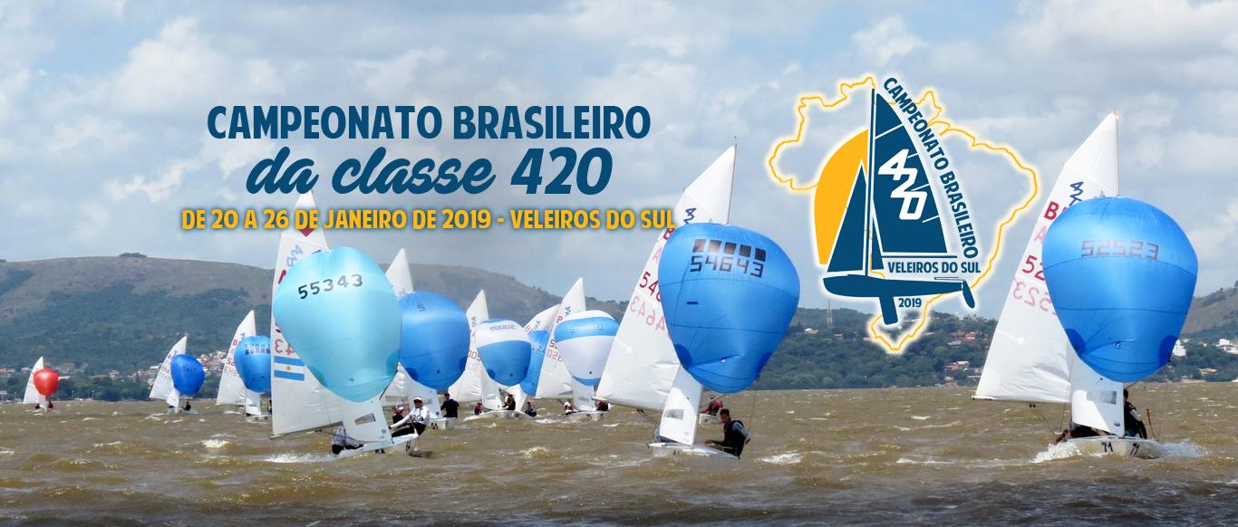 Brasileiro de 420 terá competidores de seis estados e do DF. Saiu novo AR #02