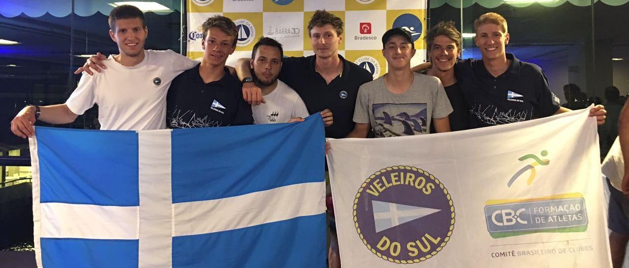 Tiago Quevedo é campeão brasileiro da classe Laser Radial. Gallicchio é vice Sub21 na Standard. Todos resultados do VDS