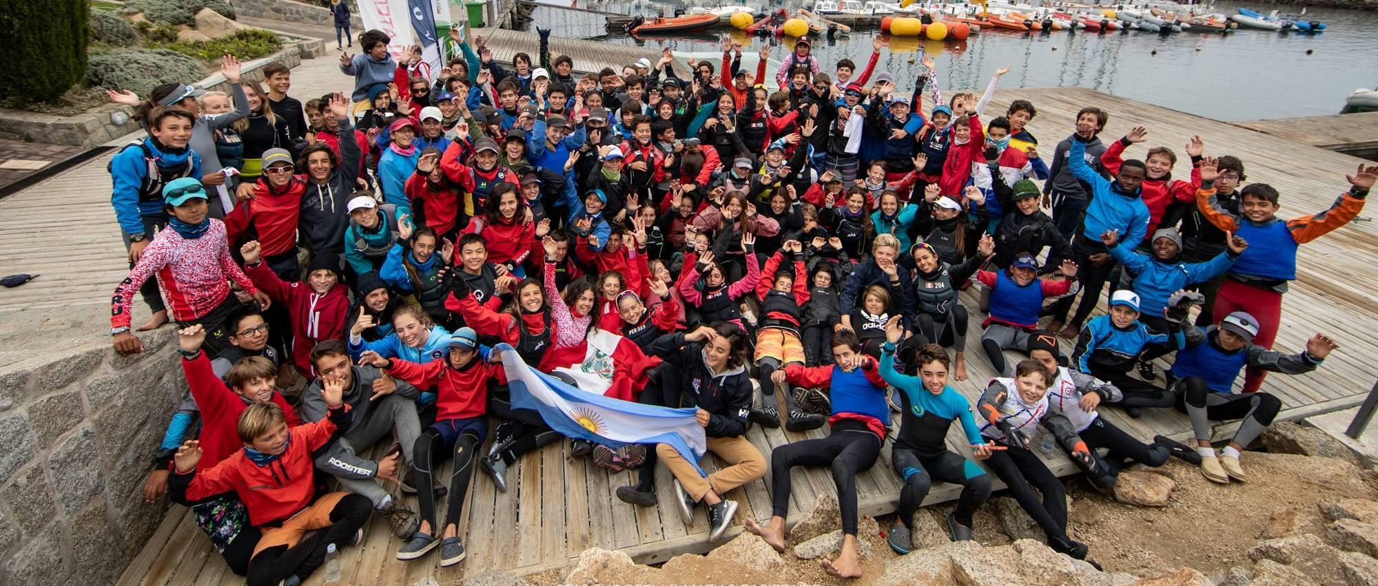 Sul-americano de Optimist encerrou em Algarrobo sem vento. Brasileiro foi vice-campeão