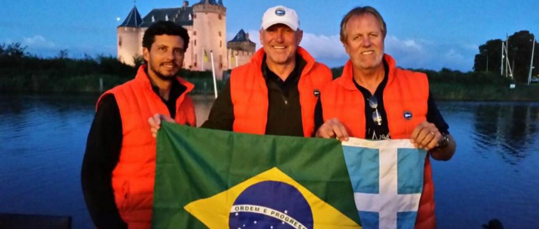 Equipe do VDS é vice-campeã mundial da classe Soling na Holanda