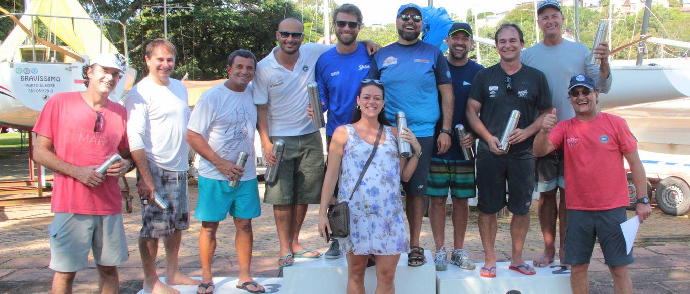 El Demolidor confirmou o título do Sul-brasileiro de Soling neste domingo