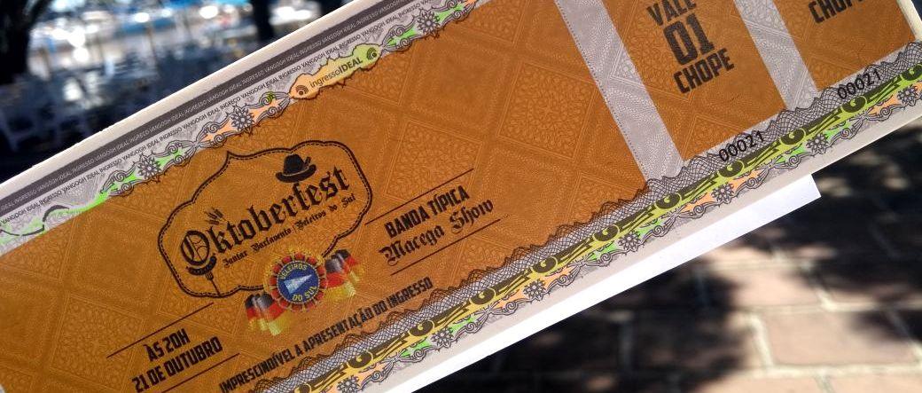 Veja como adquirir seu ingresso para a Oktoberfest