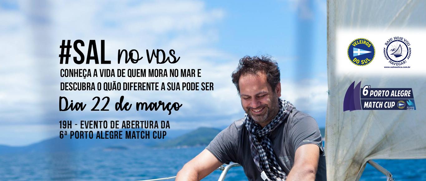 Adriano Plotzki do canal do Hashtag Sal estará de volta ao VDS para uma palestra no dia 22 na abertura da POA Match Cup