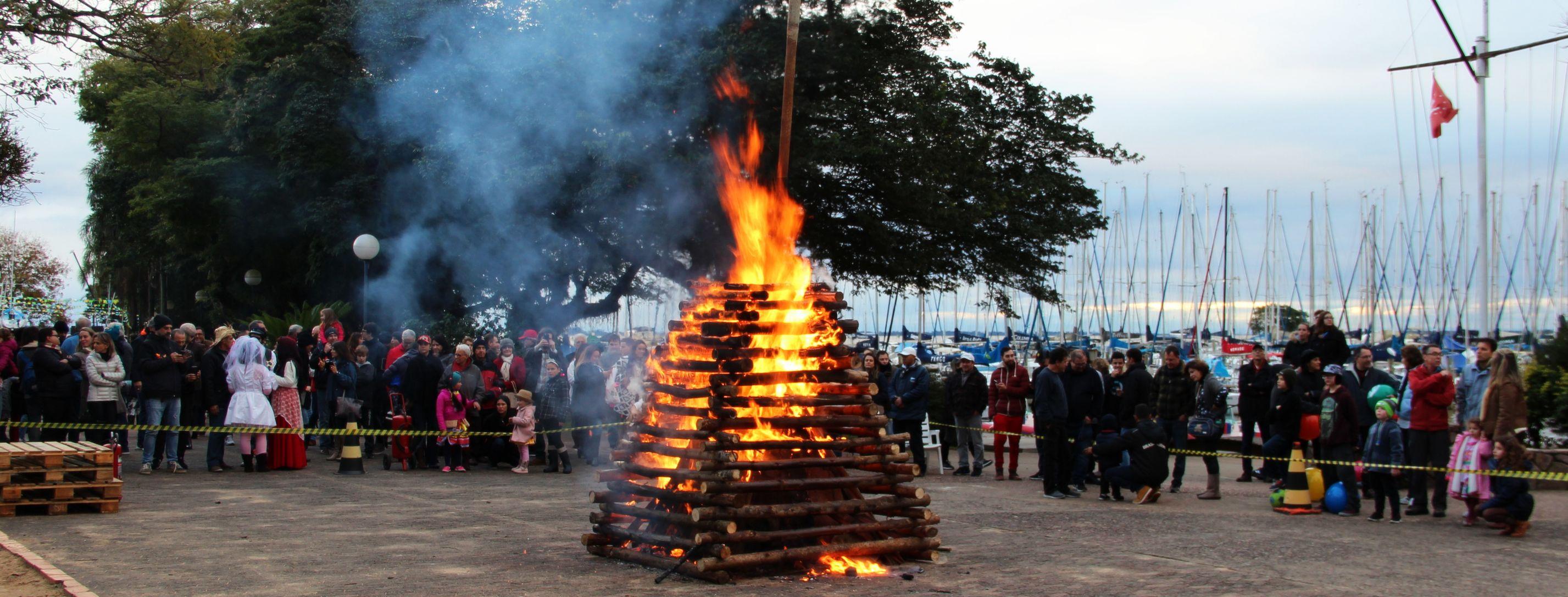 Festa São João esquentou o domingo de inverno no VDS