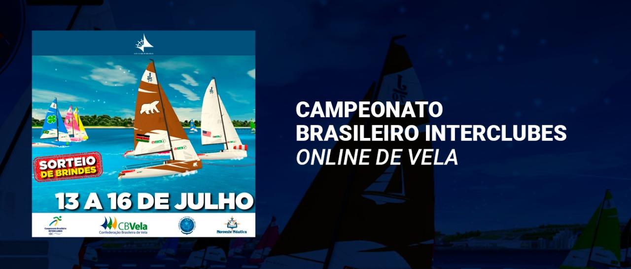 Campeonato Brasileiro Interclubes Online de Vela estreia em julho