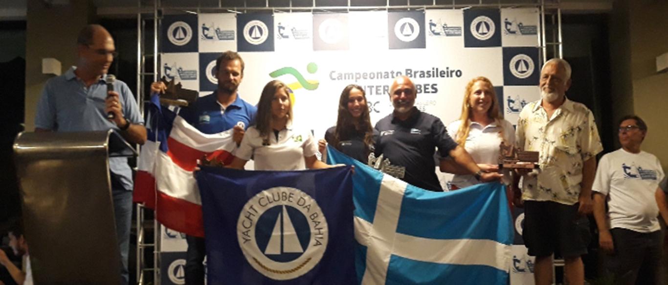 Dupla do VDS é vice-campeã brasileira na categoria mista da Classe Snipe